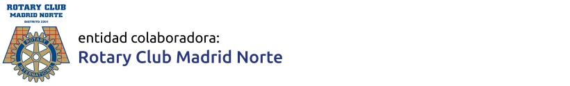 Rotary Club Madrid Norte, entidad colaboradora