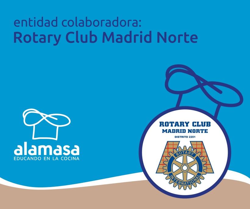 Rotary Madrid Norte, entidad colaboradora